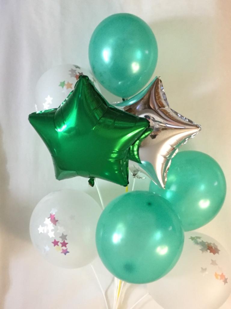 фонтан из воздушных шариков