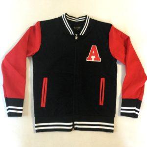 Курточка-бомбер под школьную спортивную одежду