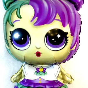 куколка лол шар воздушный фольгированный