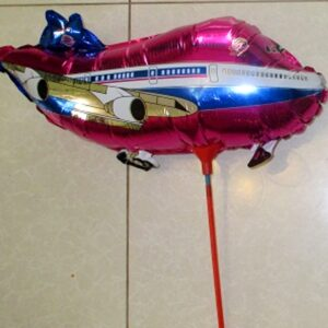 комплект шар и палочка фигурка самолёт