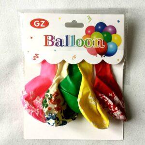 воздушные шары с рисунком набор из 5 штукна
