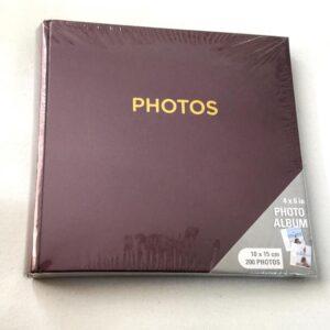Книжный переплёт в фотоальбоме и место для записи