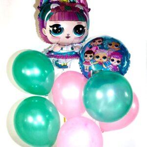 воздушные шары набор Лола