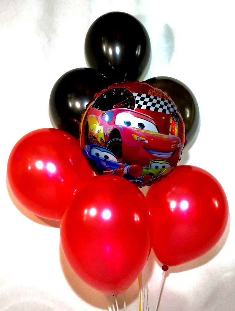 воздушные шары набор тематика Тачка