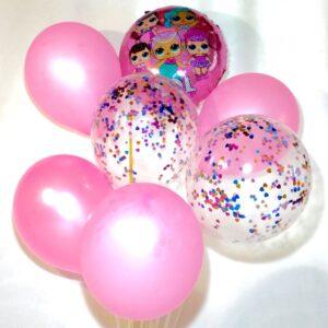 набор воздушных шаров тематика Лола
