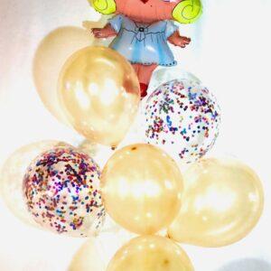 Набор из 7 шаров Куколка Лол Марлин Монро