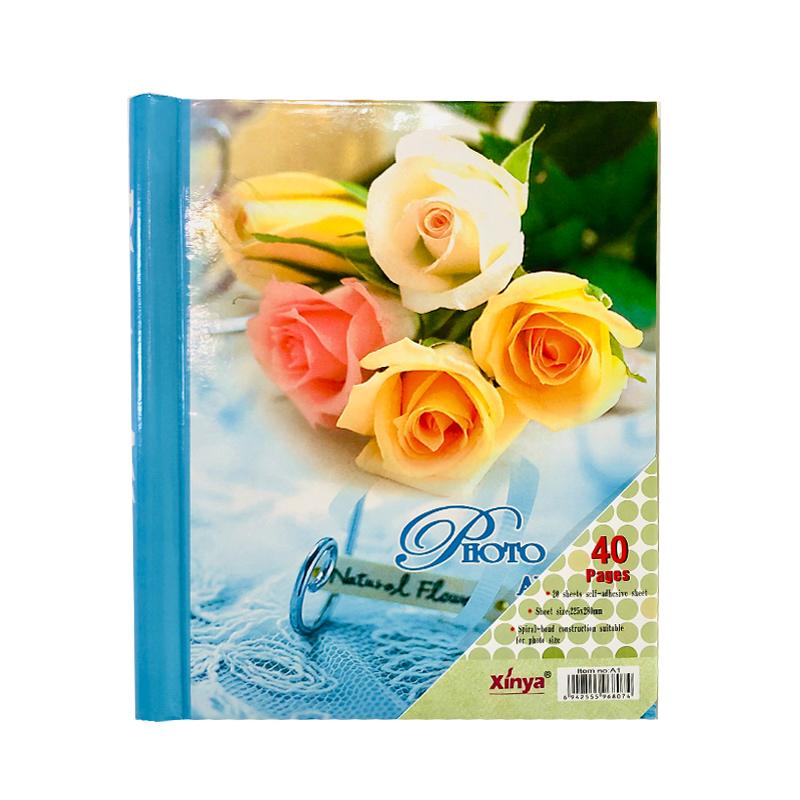"""Фотоальбом на 20 магнитных листов """"Желтые Розы"""" (цветочная серия)"""